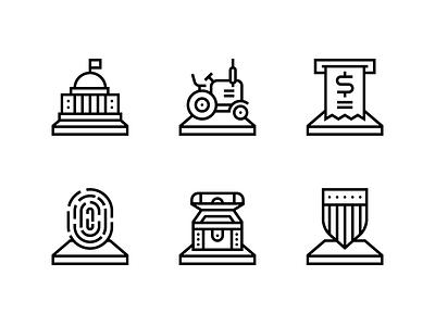 The Washington Post Icons icons