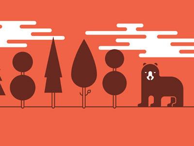 Wild Wonderings. illustration poster print
