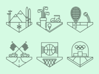 Sports Crests.