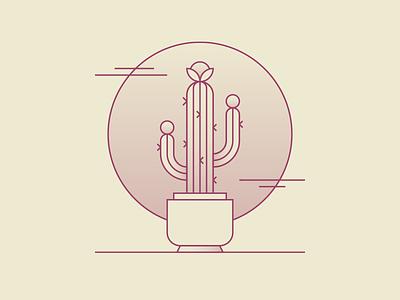 Dreaming Of Warmer Days 🌵✨ illustration