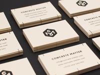 Concrete Matter.