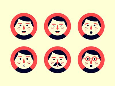 Avatars. illustration