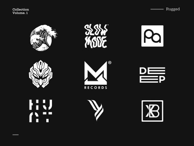 Logofolio - Vol 1 logofolio brand identity brand logo inspiration logotype icon typography branding logo vector graphic