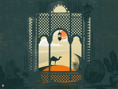 Marrakech airplane vector marrakech paris poster landscape illustrator graphism illustration graphic france flatdesigns flatdesign architect colorful city air france