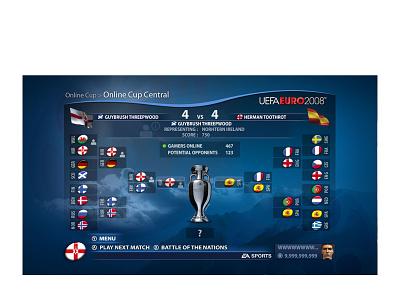 UEFA Euro 2008 user interface design userinterface