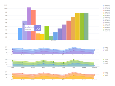 Chart Colors product design user experience user interface desktop design desktop app desktop desktop application data visualization charting graph chart ux ui colors color branding brand app abstract design