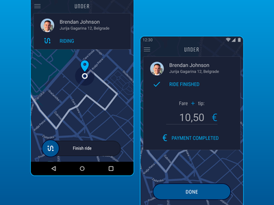 Taxi App for Drivers
