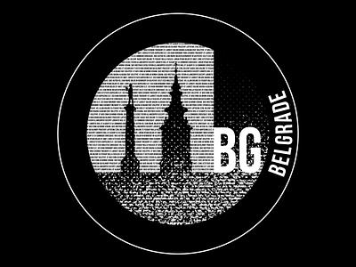 Belgrade sticker weekly challenge warmup vector icon town hometown branding illustrator sticker illustration design weekly warm-up show and tell fun experiment dribbbleweeklywarmup
