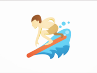 Ilustration Surfing