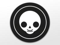 Skull coaster