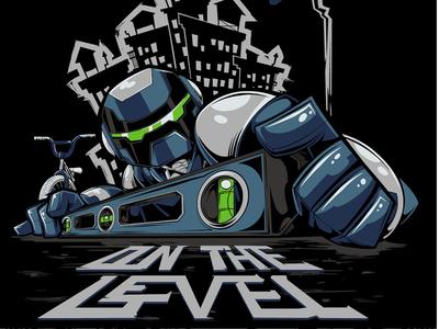 On The Level robot flatland bmx level city urban