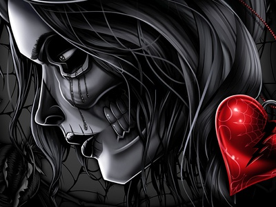 Part 2 Die Later design illustration paint draw airbrush poster art