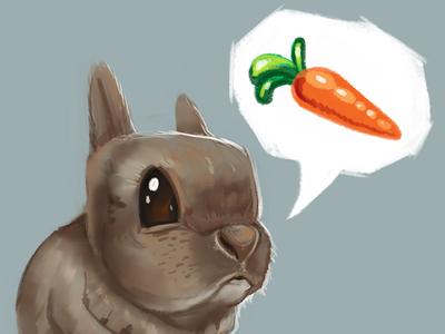Bunny cute practice draw art sketch bunny