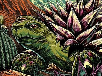 311 Summer Tour Phoenix Poster 2018 band merch turtle silkscreen print drawing rock poster poster 311