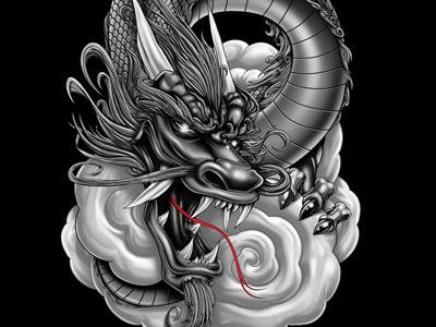 Dragon gray dragon 2012