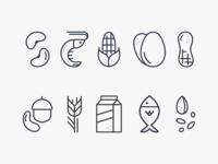 Allergen Icons