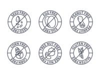 Free Allergen Label SVGs