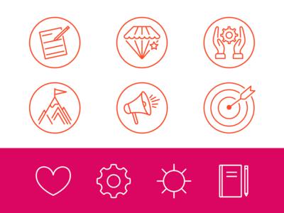 Copywriter Icons