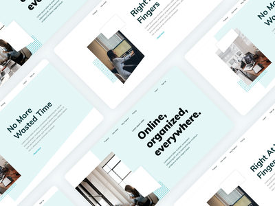 Landing Page for a Personal Startup html ux design typography inspiration creative web design ui modern design startup landing page design landing page