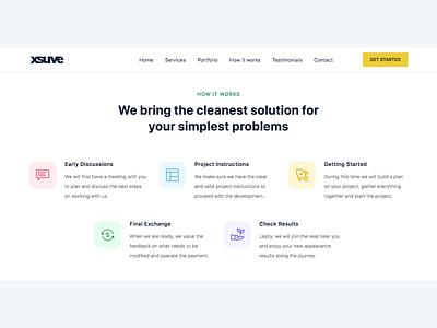 xsuve - Web Design & Development Agency Website branding web css html web design ux design creative ui modern design