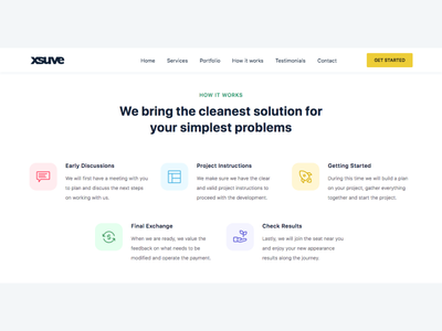 xsuve - Web Design & Development Agency Website