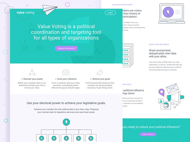 Political Platform for Advocacy Groups