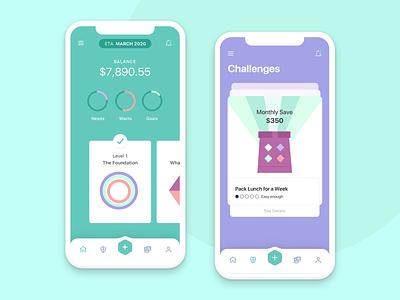 Financial Wellness mobile app wellness fintech