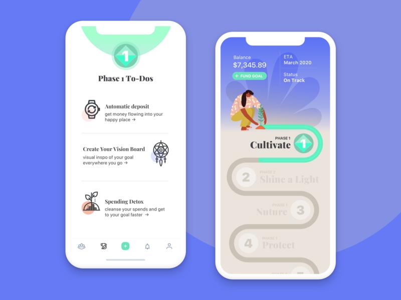 Haven - Financial Wellness goal app gamification financial wellness fintech