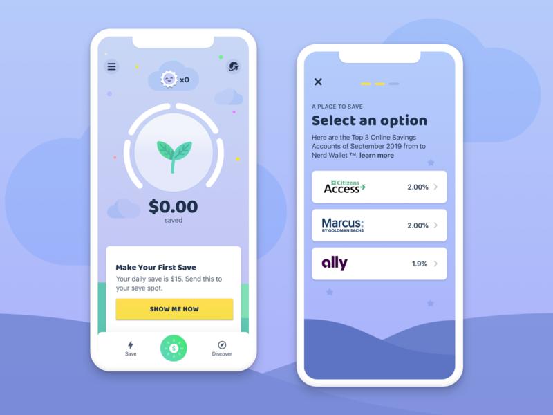 Micro Savings machine learning goals bankingapp fintech