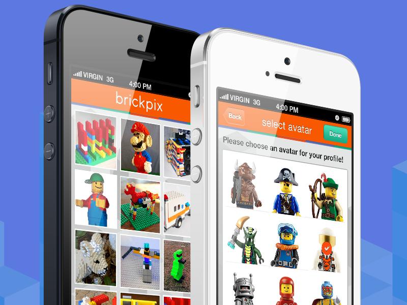 Brickpix ios app