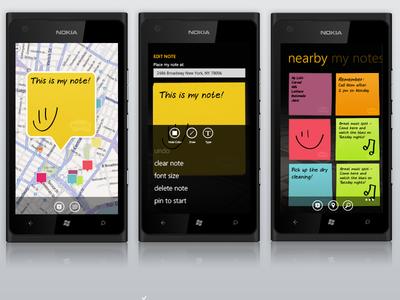 Windows Metro App mobile app windows metro segoe