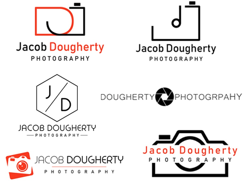 jd photography logo concepts by trevor lilley on dribbble dribbble