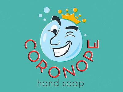 Dribbble Weekly Warmup 030: Soap orange red teal blue print midcentury coronavirus soap