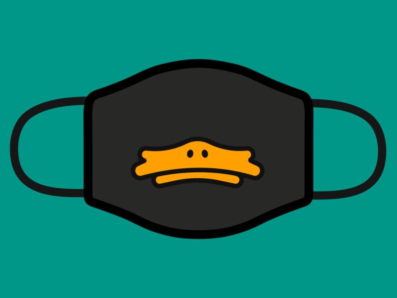 Duck Face - Design for Good Face Mask