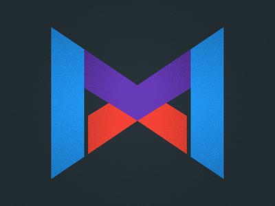 Logi MX rebound playoff logomark purple red blue overlay x m mx logo logi