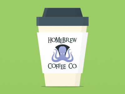 Weekly Warmup 008: Fictional Coffee Packaging