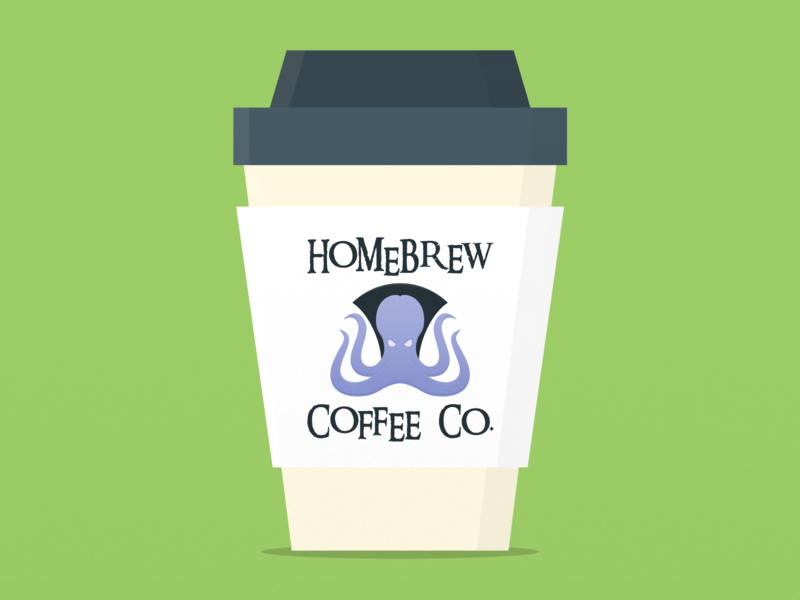 Weekly Warmup 008: Fictional Coffee Packaging