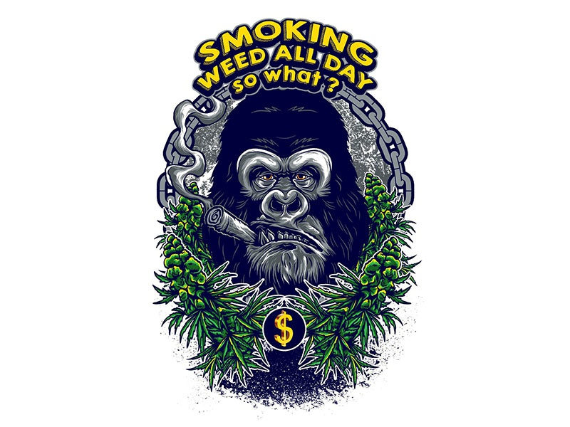 Smoke Weed By Fluffyartstudio On Dribbble