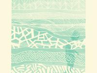 Beach Pattern Print