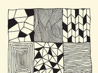 Grid Pattern Poster