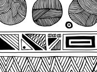 Black Lines, Black Shapes