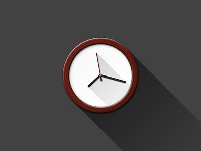 Clock clock graphics flat fun photoshop psd attached