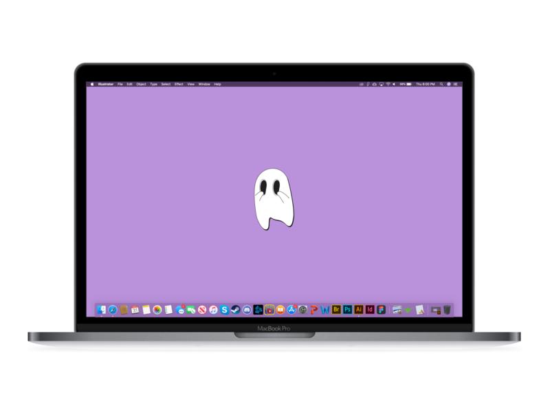 Shy Ghost - MacBook Pro