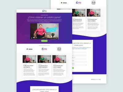 Landing Page Design - Online Course