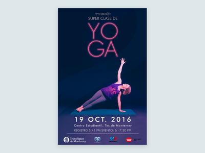 Poster - Yoga Class