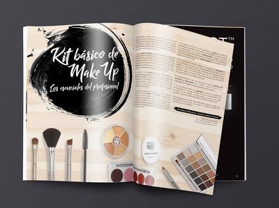 Editorial Design - Beauty Magazine