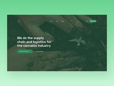 Day 13 of #30daysofwebdesign dailyui web landing page ux simple concept webdesign figma website design web design website clean minimal ui typography design