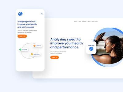 Mobile first web design in Figma 2/4 mobile first mobile web figma web design website simple concept typography clean ui minimal design