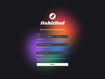 How to design a dark mode form with Tailwind CSS how-to how to tailwindcss dark theme dark mode dark web figma web design website simple concept typography clean ui minimal design