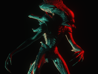 Alien Render by Octane